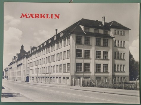 Marklin factory at Goppingen in 1956
