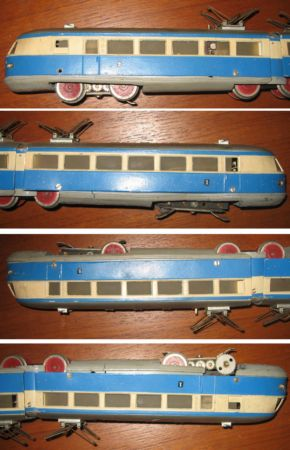TW800.4 Blue/Cream produced 1949 with type 4.1 pantographs.