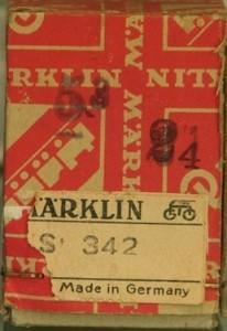 Marklin 342 Box 1945