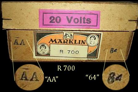R 700 Box