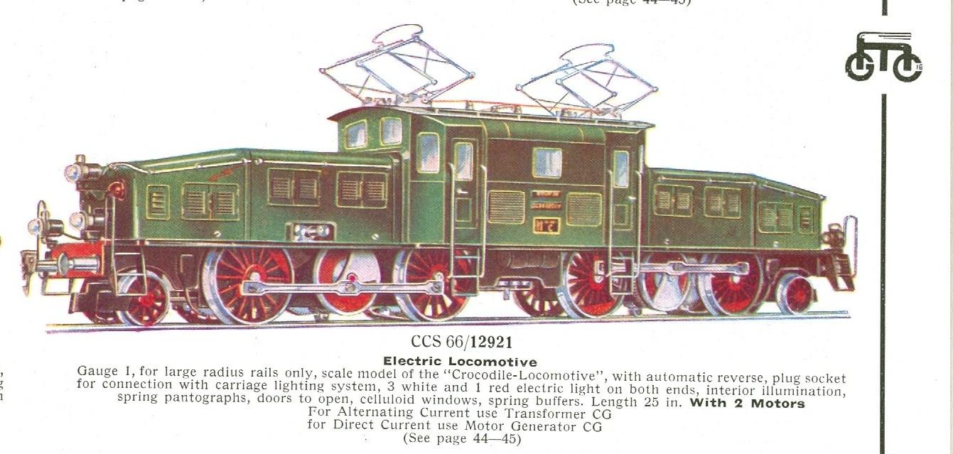 CCS 66 12921 in D11 (1934) Catalog