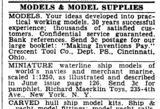 Richard Maerklin Toys Popular Science Aug 1939
