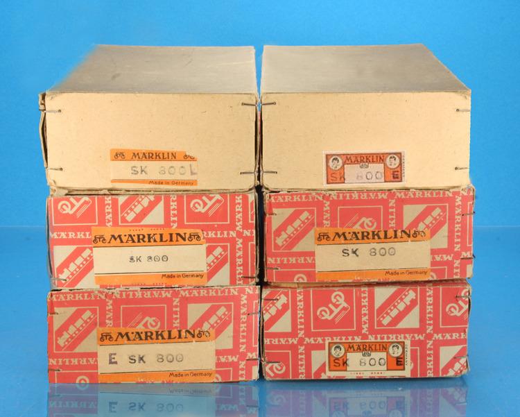 Marklin SK 800 boxes, 1945-1947