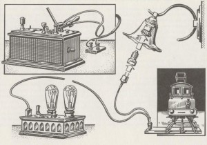 High voltage power supply; Modellbahn Technik  P.137