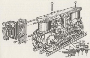 High Voltage electric motor; Modellbahn Technik  P.145