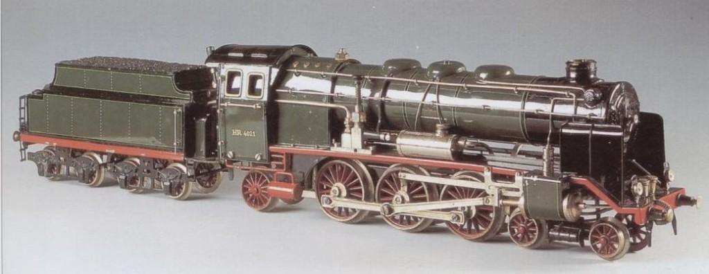 Steam-powered engine; Wertanlage Märklin  P. 19