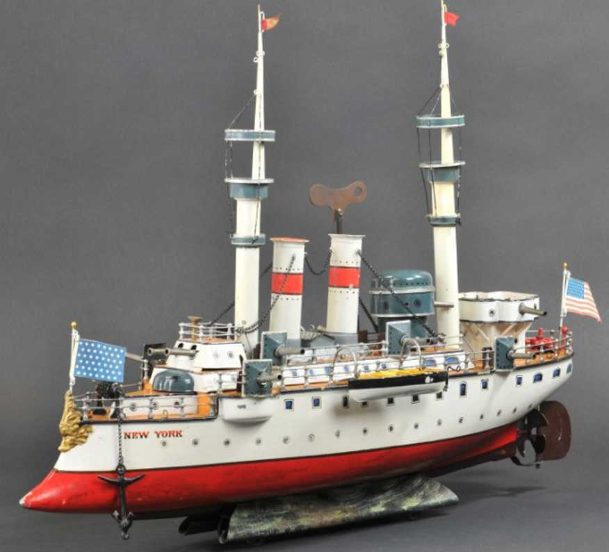 Marklin First Series battleship