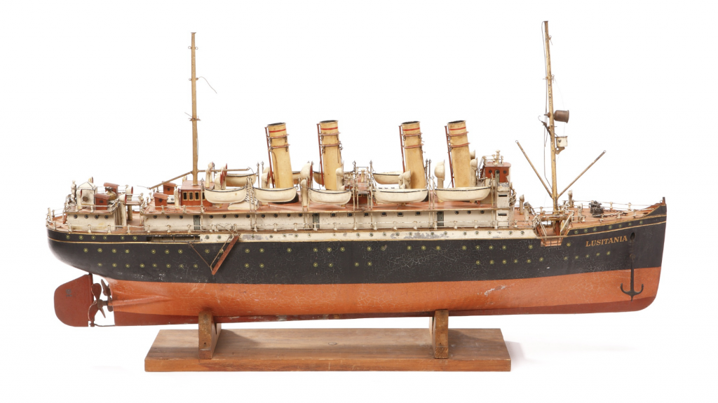 marklin lusitania ocean liner