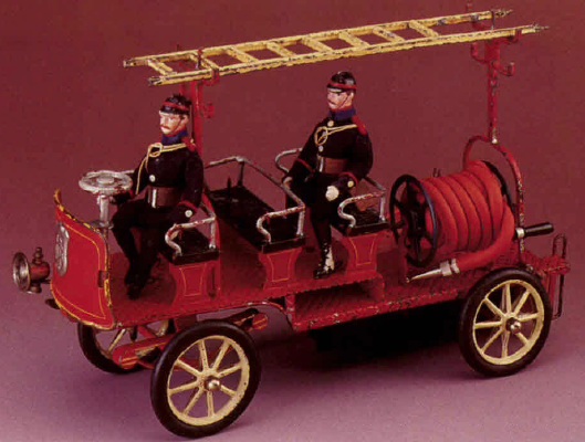 Marklin Clockwork Fire Patrol Wagon sold by Mint & Boxed