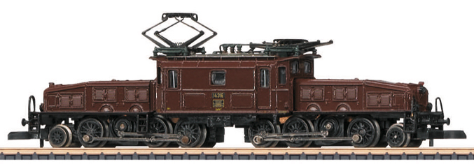 Marklin 885663 locomotive in Z scale