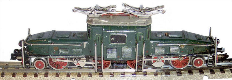 The first HO Scale CCS prototype which wasn't realized until post-WWII