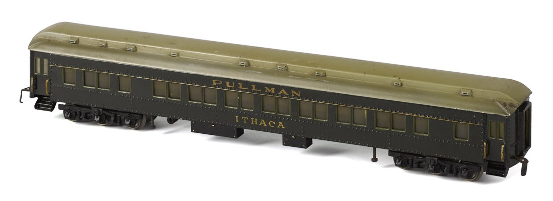 "Marklin Pullman coach ""Ithaca"" sold for $5,500 by Pook & Pook with Noel Barrett"